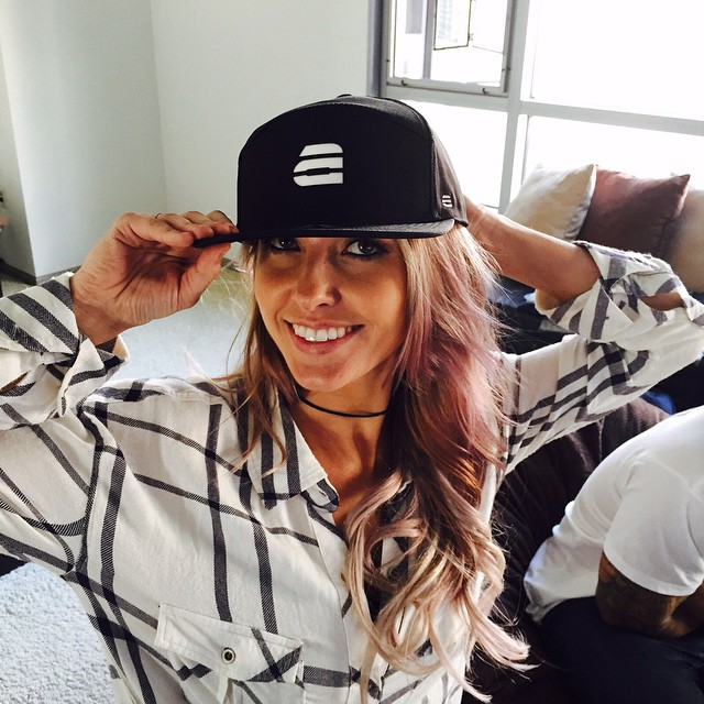 The lovely Audrina Patridge rocking her Lumativ E5 SnapBack!