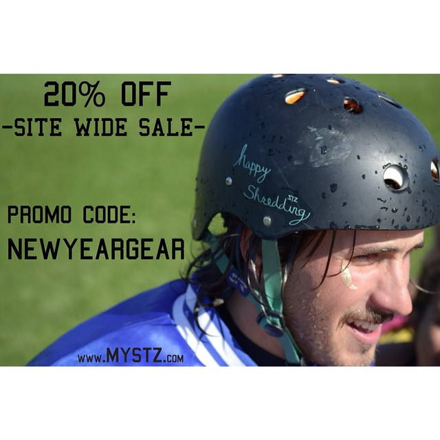 Get 20% off SITE WIDE | until Sunday using promo code: NEWYEARGEAR | 28 all new products included don't blow it! #stzlife #happyshredding #sale #wakeboard #skateboard #surf #snowboard #stayoutside #adventure #professionaloutsider #newyeargear...