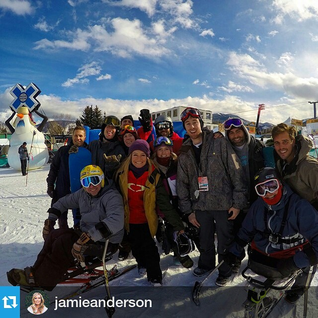 #Repost @jamieanderson ・・・ Thanks for coming out to the #instameetX ! @xgames @gopro @oakleysnowboarding @monsterenergy @gnusnowboards