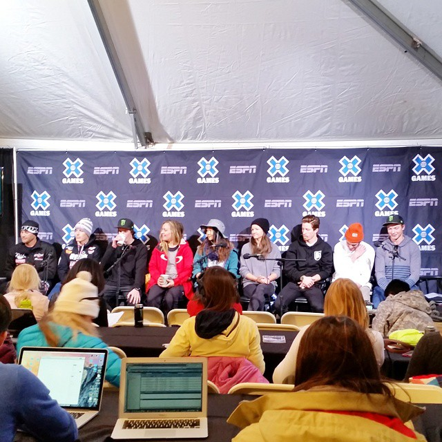 The #XGames Aspen press conference is underway!