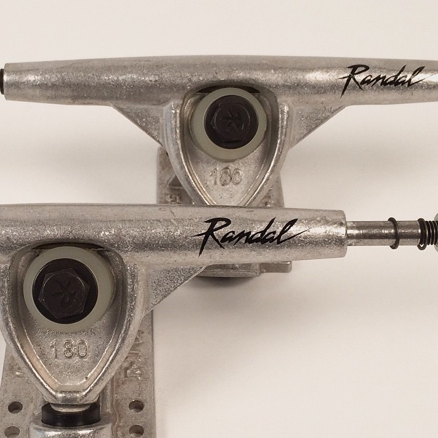 Got some @randalltrucks in the shop for sale. #randall #RKP #trucks#longboarding #longboard #skatelife #skateboard #skateshops #doubledrop #downhill #freeride #slide #thanelines #getbuck #madeinusa #love #usa #american