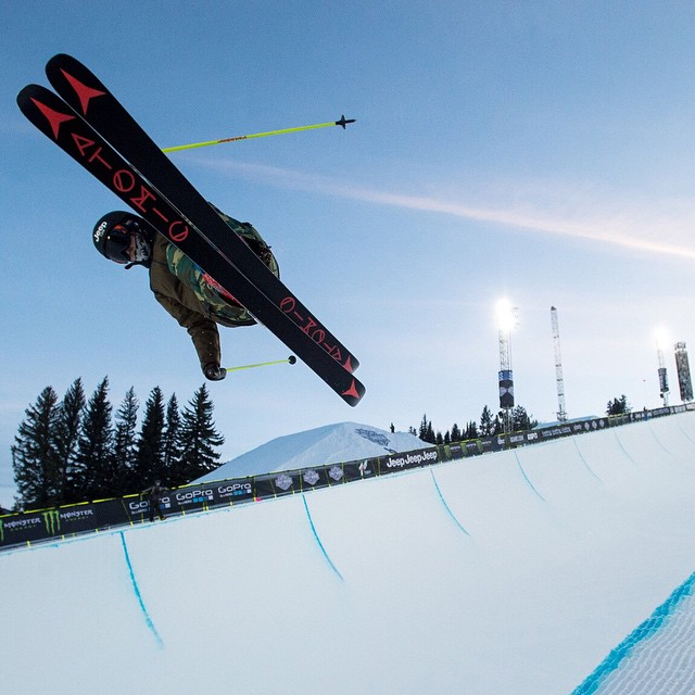 All eight athletes participating in #XGames Women's Ski SuperPipe competed in Sochi last year!  Click the link on our profile page to check 'em out at 9 pm ET on ESPN3. (