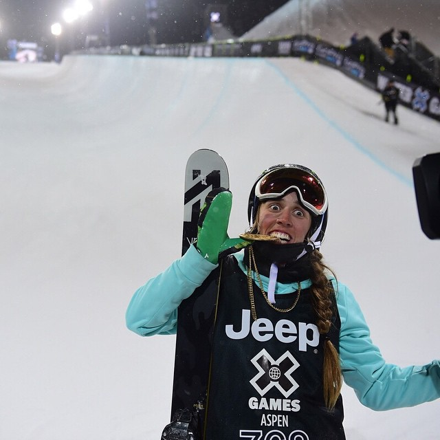The first gold medal of #XGames Aspen 2015 goes to @maddie_bowman for Women's Ski SuperPipe! (