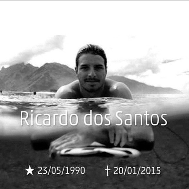 The surfing community suffered from a tragic loss this week. Ricardo dos Santos was an amazing surfer whose tube riding skills were nothing short of world-class. He will be missed by many. #RIPricardodossantos