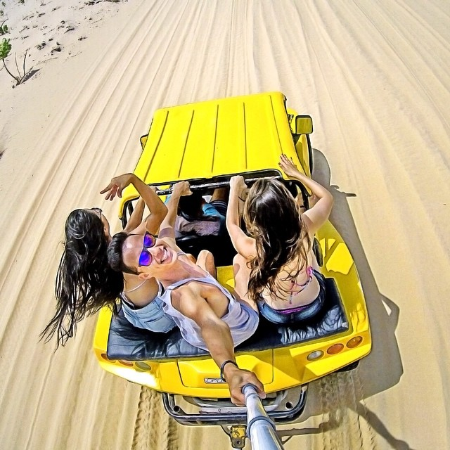 Beach cruisin' Photo: @adsont GoPro HERO4 | GoPole Reach #gopro #gopole #gopolereach #beachcruisin