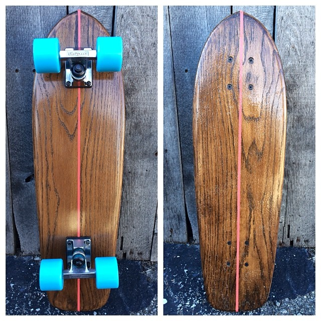 We just rolled out this gem of a cruiser. Order by DEC 19 to get your board by Christmas!