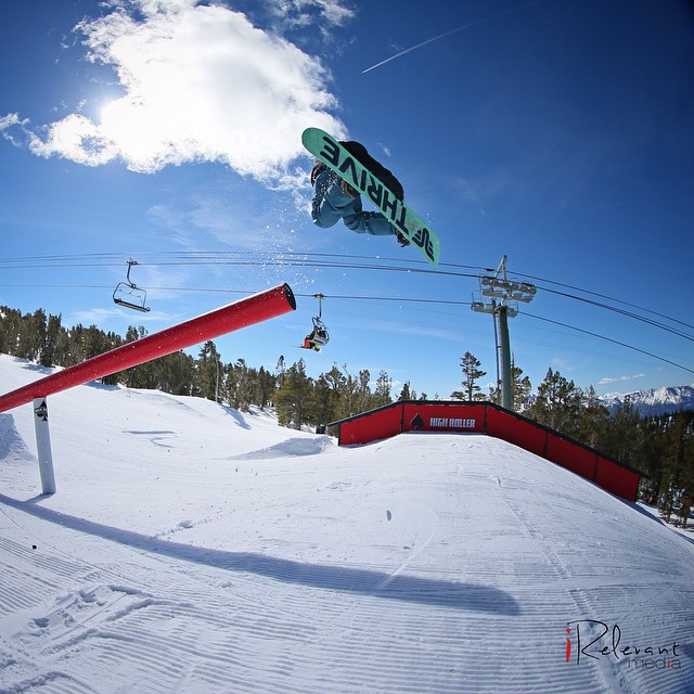 #throwbackthursday @antonryzenkov @heavenlymountain #snowboard #polejam #sickphoto @irelevantmedia #anteup2014