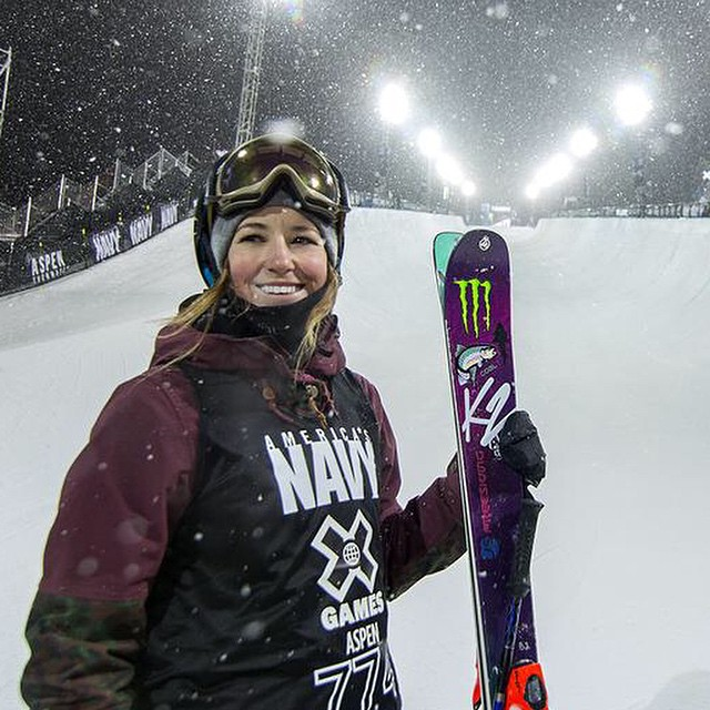 Congrats to @britasig for grabbing Bronze last night in Women's Ski Superpipe at the #xgames in Aspen! What events are you going to watch?