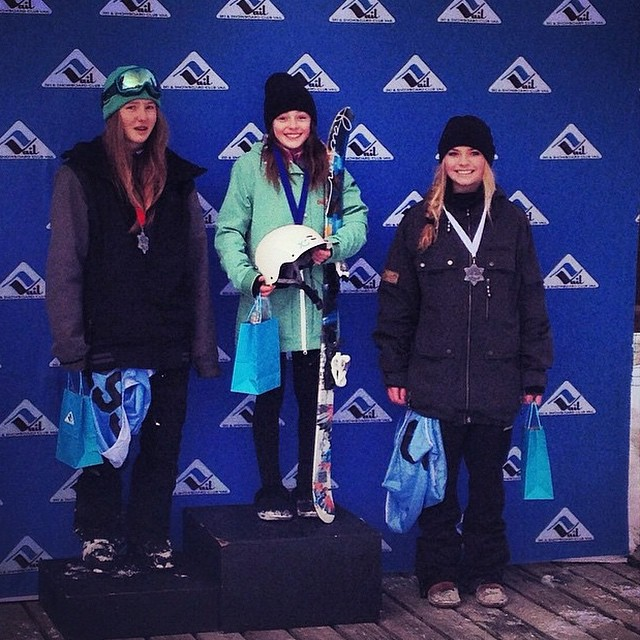 Shout out to @camdengallen for being so awesome and repping @xshelmets. This 12 year old has big plans in her future! Congrats on your recent comp at @vailmtn @vailfreeski