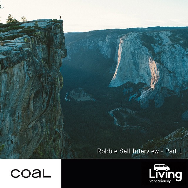 Former pro and great friend of Coal @robbiesell is on the journey of a lifetime in a van with a plan. We interviewed him to get the deets. Link in bio.