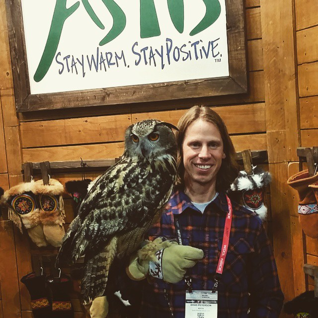 These gloves are owl proof! Come visit us at Outdoor Retailer! Booth 9036. #Astis #outdoorretailer #OR #owl
