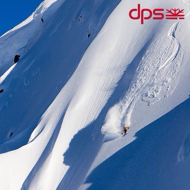 The first DPS catalog cover. DPS Founder Stephan Drake in British Columbia, 2006. Photo: @oskar_enander. #PowderRoad #dpsskis #dpsroots #skiing