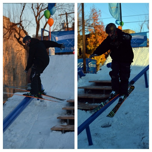 @zsturtevant getting after it with a 2nd place finish at an early season rail jam in his Freesoul 10's. Nice work!