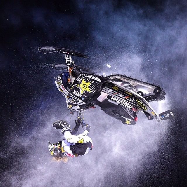 That golden feeling! @colt45moore taking home the top spot in Speed & Style. #xgames (