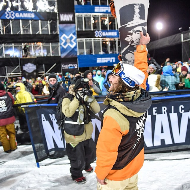 @travelindan for the win! What an epic way to kick off #xgames Aspen. (