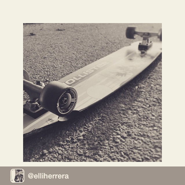 Repost from @elliherrera via @seckence Longboard Specs.  @Hollisterco deck @Holesom Holy Roller ABEC 9  @Seckence Super Comfortable #seckence #ineedalife #california
