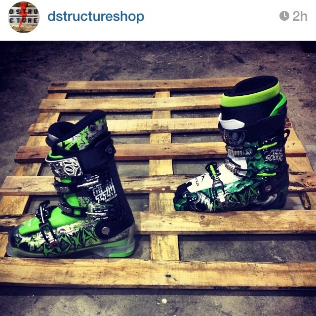 #regram of the Freesoul 10 and Crazzy 6 that just landed at @dstructureshop. If you are in Quebec drop in and buy a pair today!