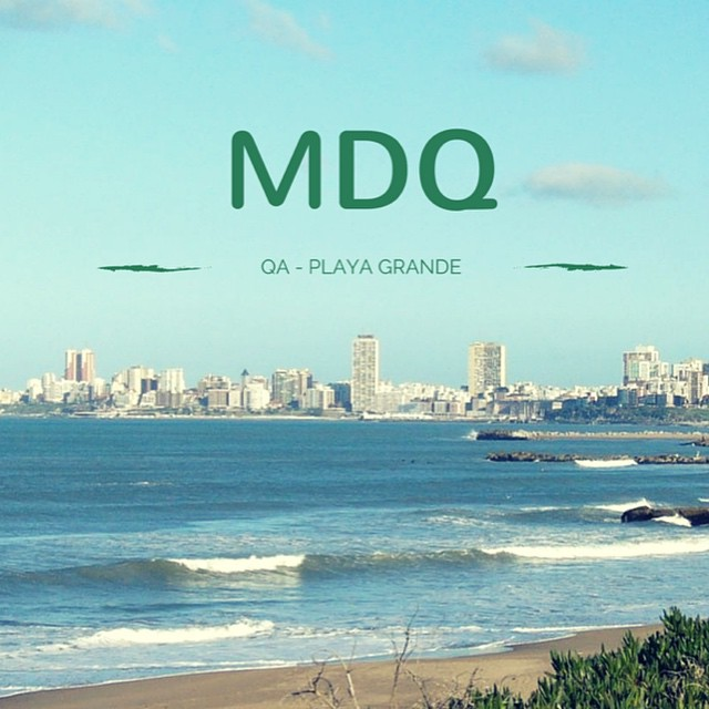 Con QA verano a lo grande, en Playa Grande #QuienSabedeActitud www.QA.com.ar