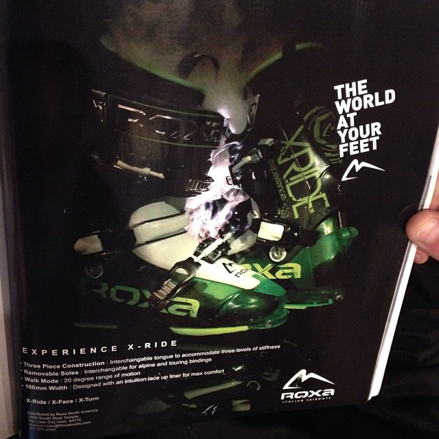 X-Ride ad in  the @backcountrymag gear guide! Catch em now while you can, definitely moving fast! #summersucks