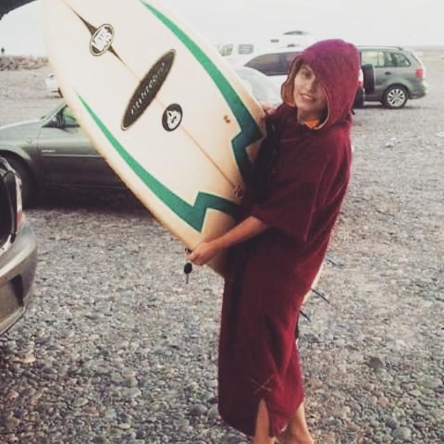 Desde Chubut, Rawson.... arrancando el viernes con una morning session, Susanita Ponce en Playa Unión! ☆★