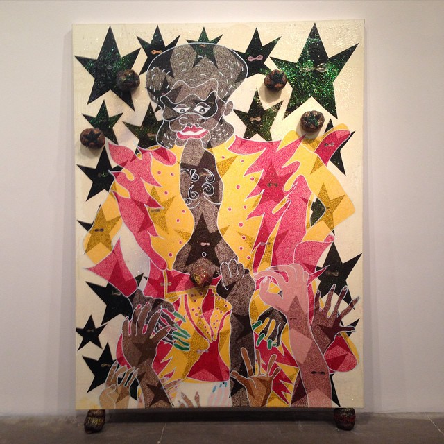 art + function, Chris Ofili #lovematuse
