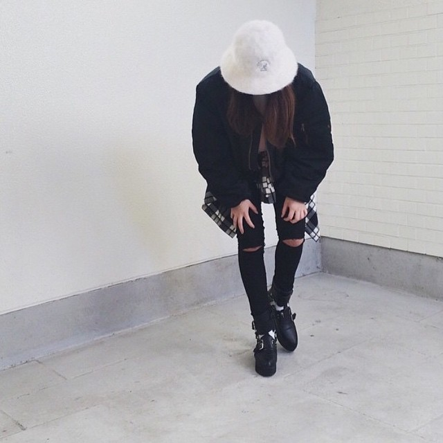 The #kangol Instagram tagged photo of the week is from @shiollie