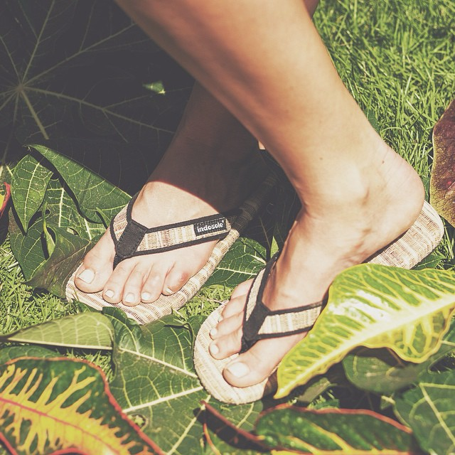 Winter here ---> Summer there #soleswithsoul #bananaweavesandals #originalindos