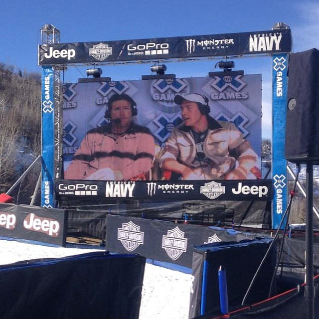 #highfivesathlete @andrewkurka is announcing at @xgames! Check him out!