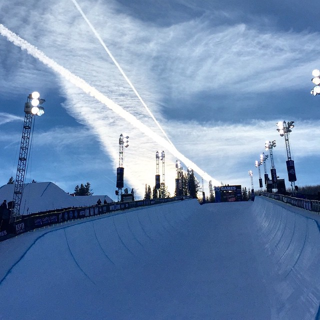 Rad things about to happen at @xgames #xgames // Men's Ski Superpipe elimination about to happen