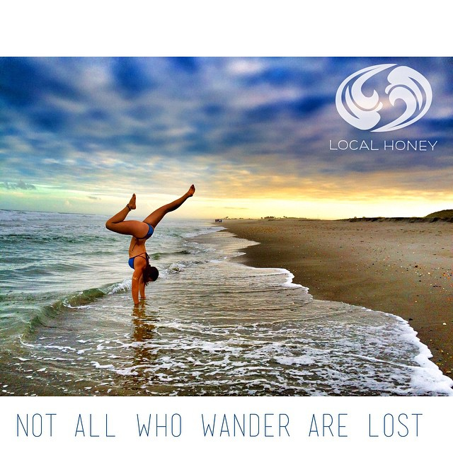 Wander, take chances and get lost. ❤️✌️#lifeistooshort