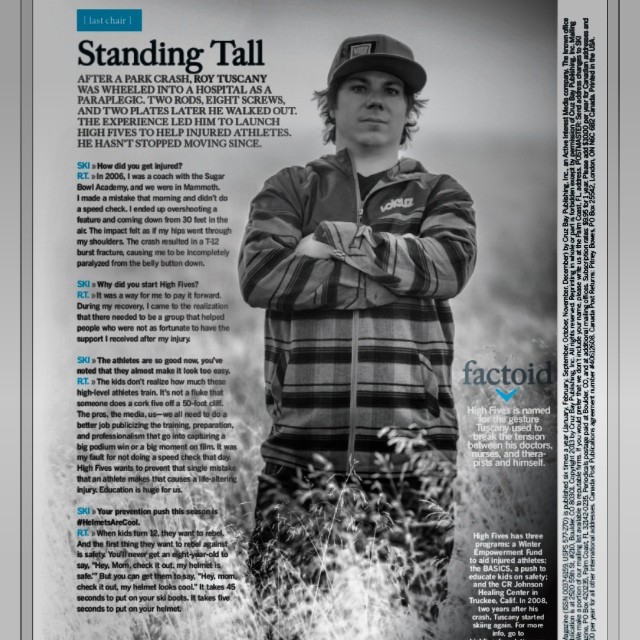 "Grab the December Issue of SKI Magazine | ""Standing Tall"" 