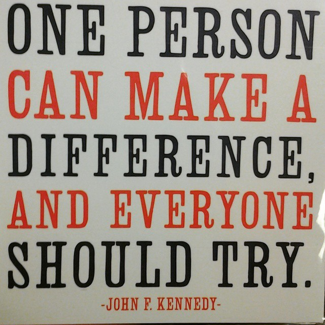 #motivation #makeadifference