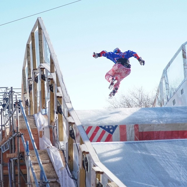 The RedBull Crashed Ice event was a massive success! Thank you @Redbull for having us out!