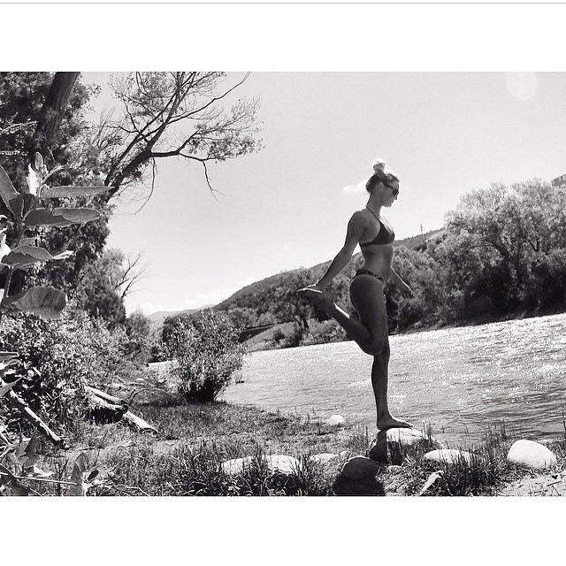 No color needed for this stunner @meredithdrangin #miola #miolainaction #miolainthewild #mermaid #muse #getoutside #gopro #getoutthere #bikini #colorado #blackandwhite