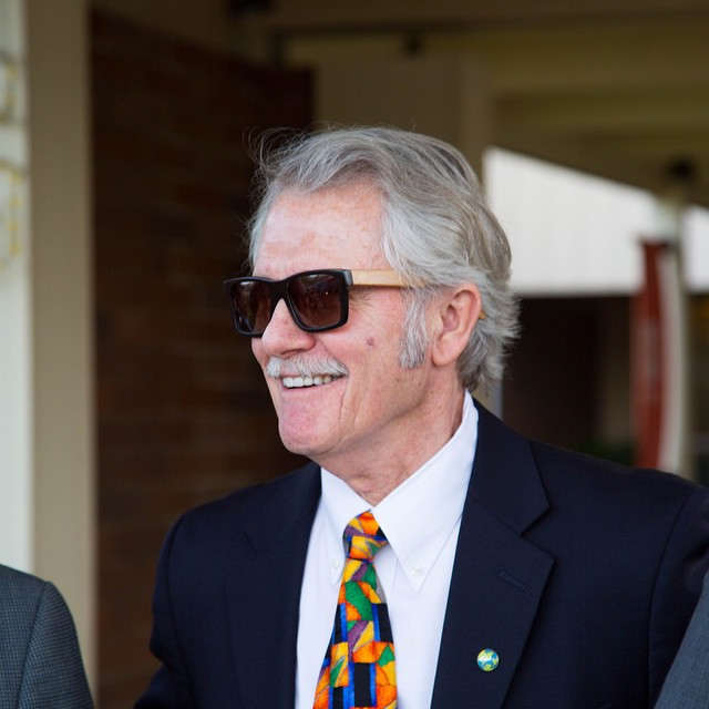 Governor Kitzhaber of Oregon enjoying his custom pair of Boskys! #bosky #sunglasses #Governor