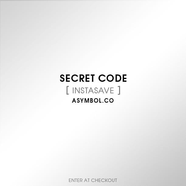 #secretcode