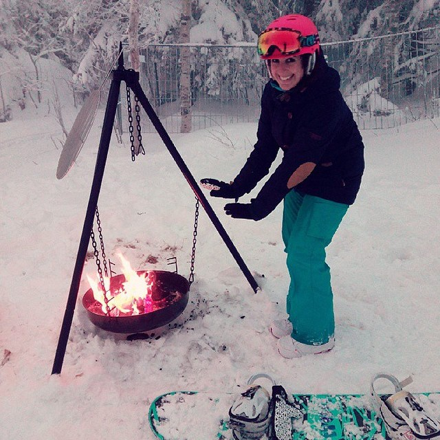 XS Team rider @sonsomasia gets cozy in #Norway!