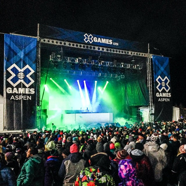 @skrillex bringing down the house on Saturday night! #Xgames