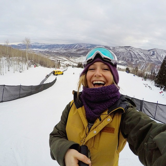 Good luck to our girl @JamieAnderson on the #XGames #Aspen #slopestyle course this morning! Tune in to cheer her on, and send her good vibes in the comments! #beheathlygetactive #jamieanderson
