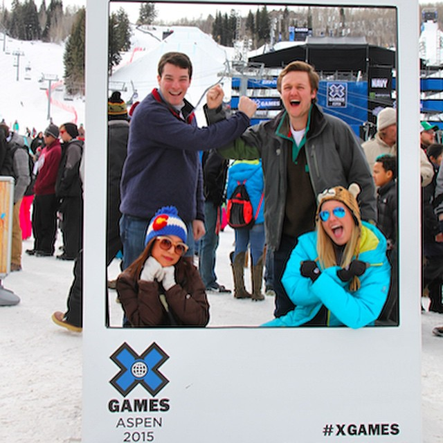 Picture perfect day out here at the final day of @xgames #Aspen! Make sure to check out GoodPeople.com for all our photos from this years #xgames #Colorado #snowboarding #skiing