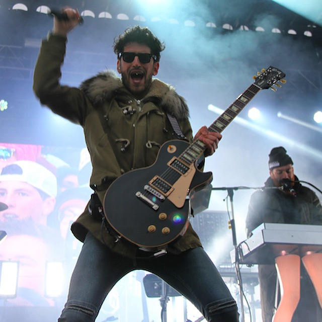Definitely got some Bonafied Lovin' from @chromeo yesterday - they absolutely killed it @xgames #xgames #xgamesmusic #chromeo #tendaroni #aspen #Colorado #buttermilk #lategram #music #concert