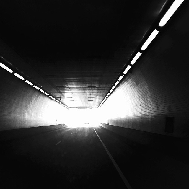 Always find the positive light at the end of any tunnel