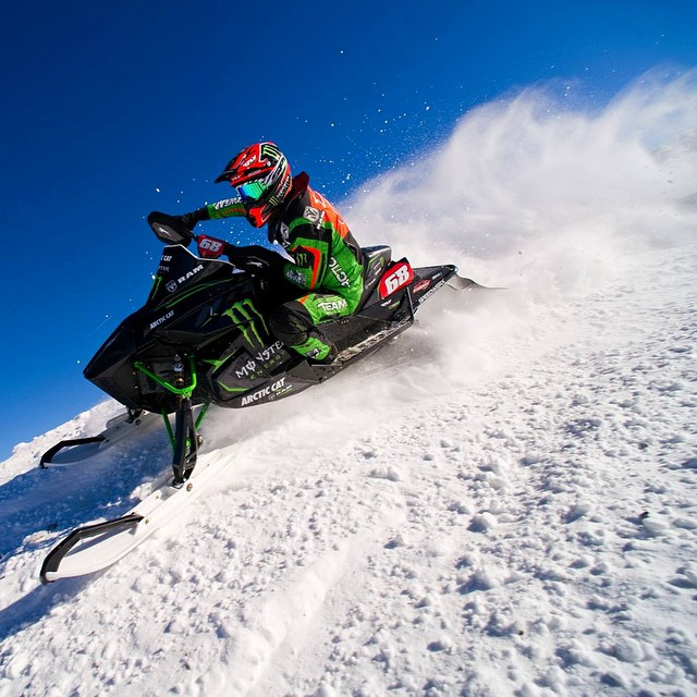 We're happy to congratulate @tuckerhibbert on his #XGames #8peat in #SnoCross!  #SEEHAPPY