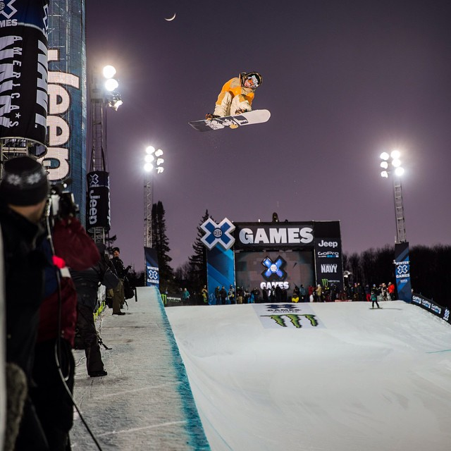 The most accomplished action sports athletes in the world straight sent it at #XGames Aspen 2015. #DareBigger (