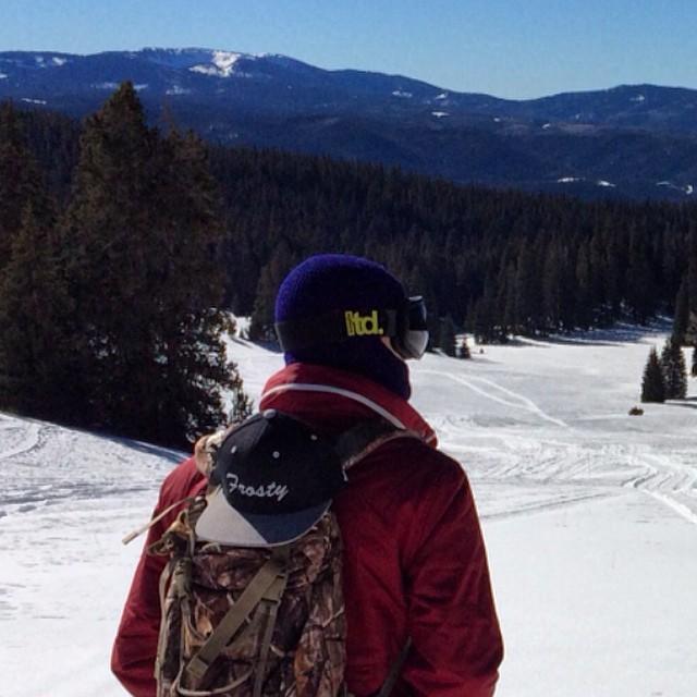 www.frostyheadwear.com #FrostyHeadwear #Snowboarding #Utah #LTDoptics
