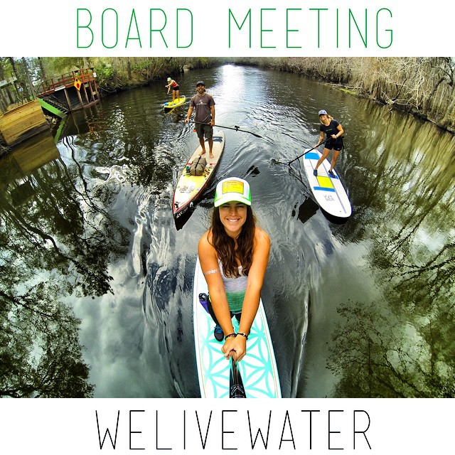 This is how #teamboardworks does a Monday Morning Board Meeting. #welivewater @boardworkssurfsup