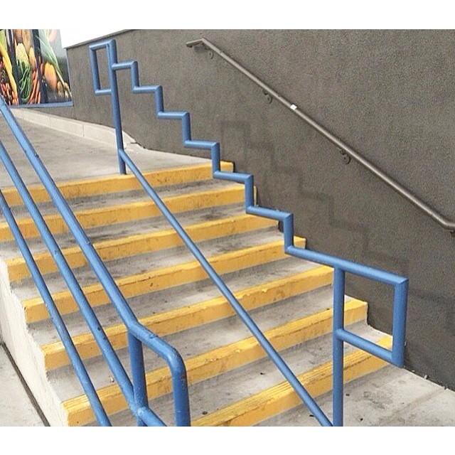 The monday struggle | #stzlife #5050 #firecracker #boardslide #skateboard #handrail #goskate #mondaystruggle #skatersbelike