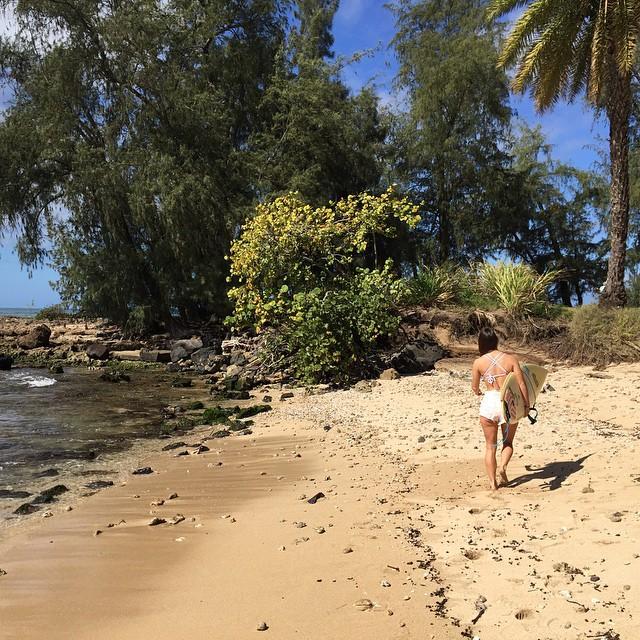 Surf check, N. shore bro #haole #sunburn