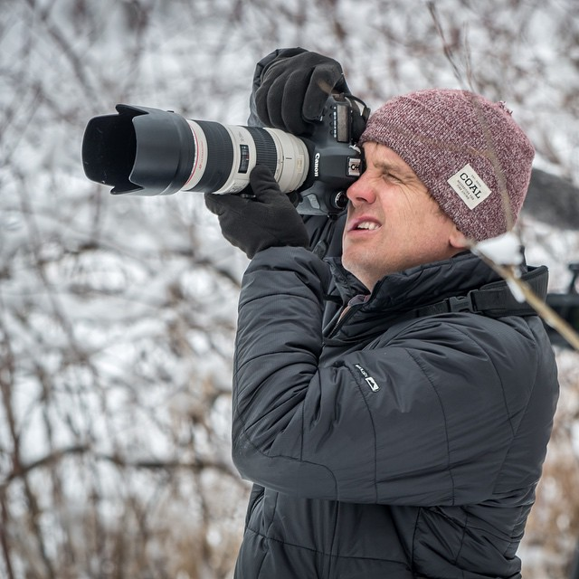 Coal photo ambassador @andywrightphoto got captured on the other side of the lens this weekend by none other than The Don. Did you shoot any #fineliving?
