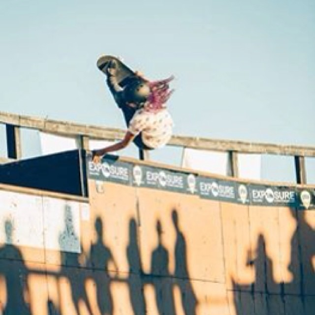 @lizziearmanto 's birthday is TODAY! So send some #love her way! #thankyouforskateboarding , Lizzie! You #inspire us every day!!! Thank you for #progressing #skateboarding.